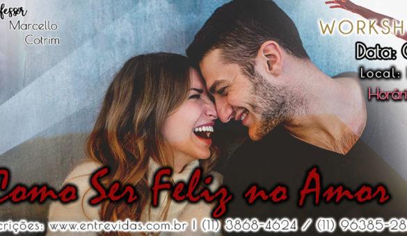 Banner Retangular Como Ser Feliz no Amor